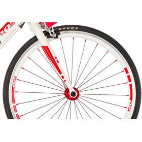 s'cool raX 20 Roadbike Kids, white/red